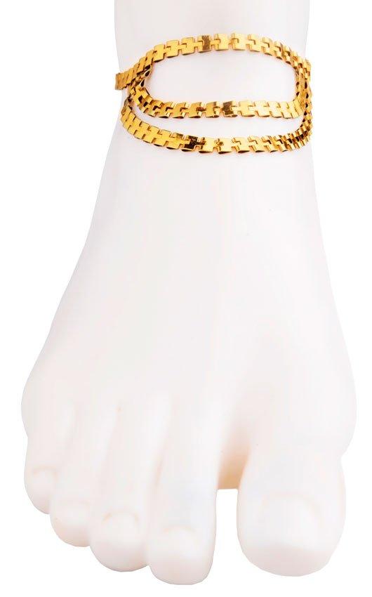 Delicate Golden Anklet (RJMAL16)-20