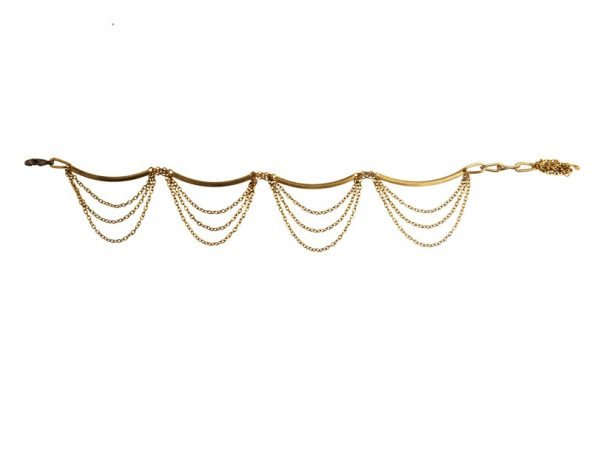 Small Pipe Anklet (RJMAL29)-2319