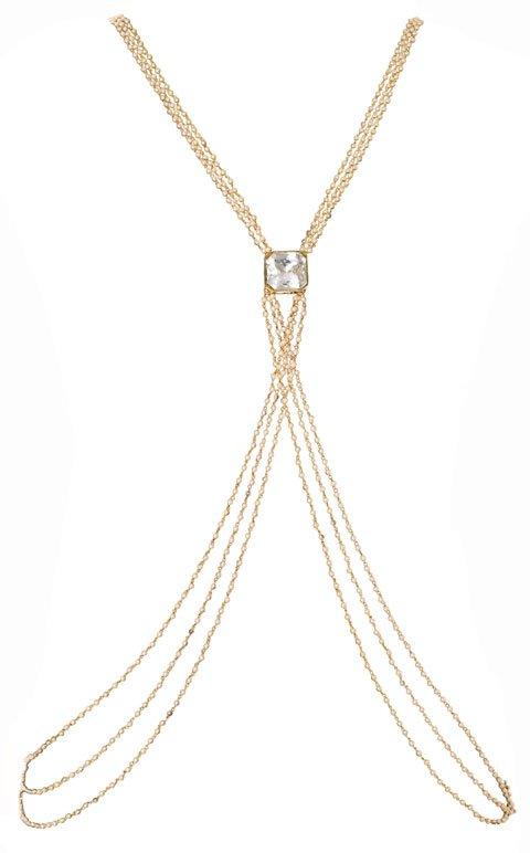 Pearls Beaded Bodychain (RJMBJ71)-151
