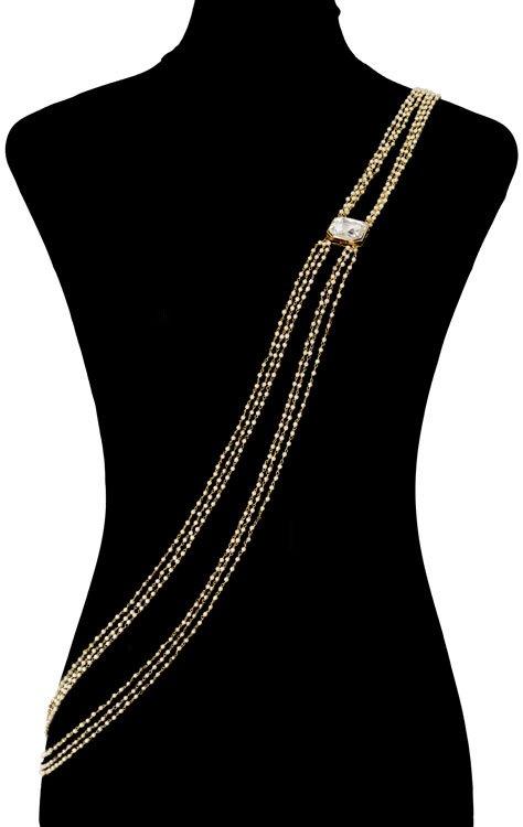 Pearls Beaded Bodychain (RJMBJ71)-149