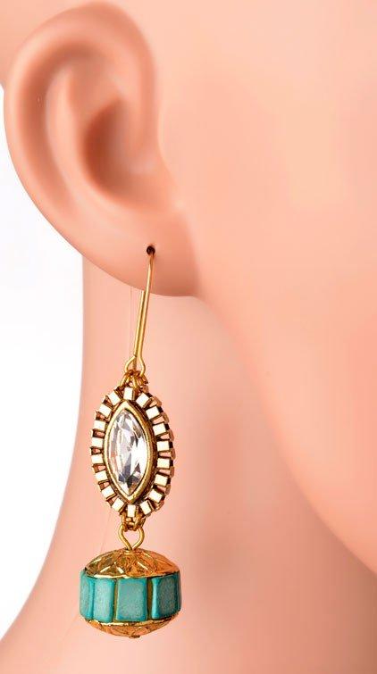 Evil Eye Earrings (RJE394)-0