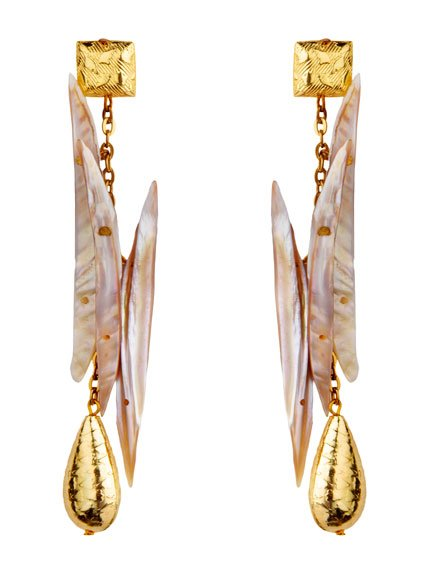 MOP Stick Earrings (RJE420)-619