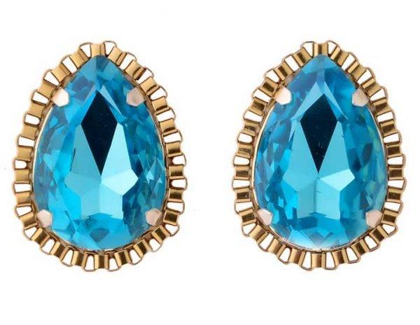 Blue Crystal Tops (RJE520)-1759