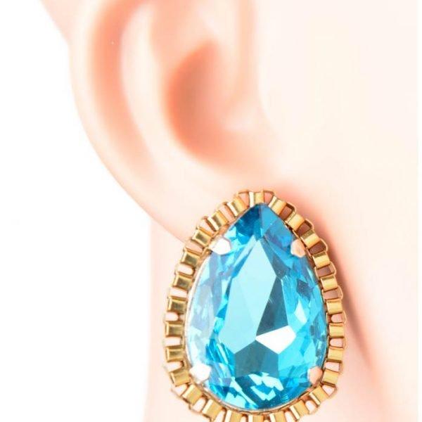 Blue Crystal Tops (RJE520)-0