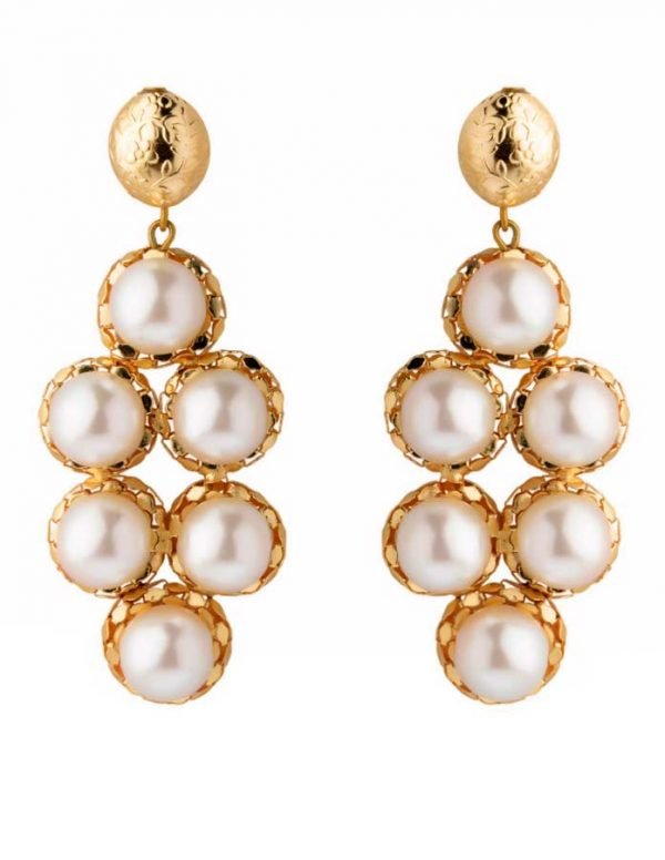Pearly Bubble Earring (RJE526)-1798