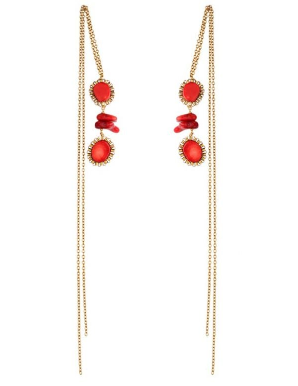 Compassionate Coral Earring (RJE533)-1532