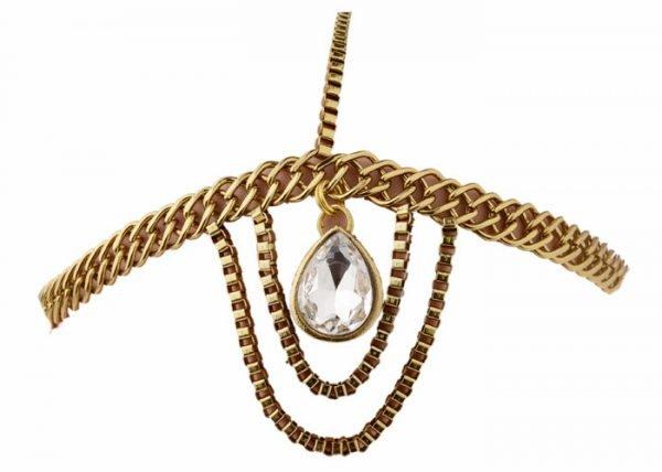 """""""Cleopatra"""" Style Headband (RJMM111)-0"""