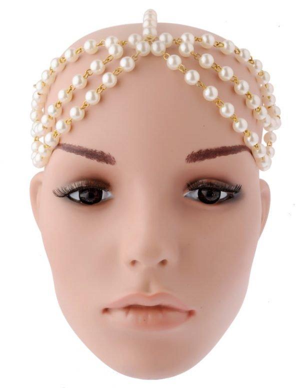 Bridal Pearls Headband (RJMM114)-2020