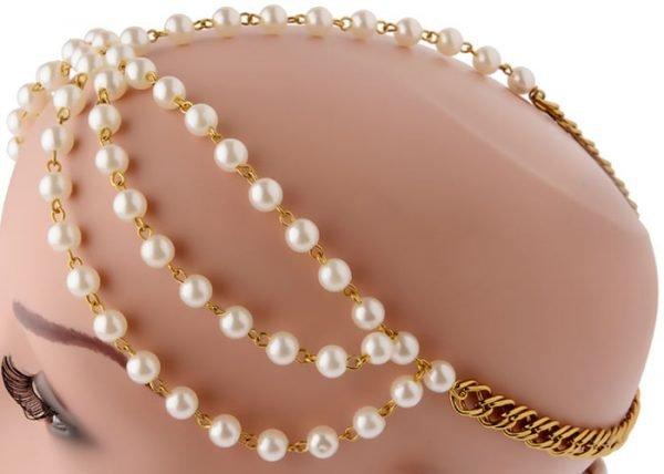 Bridal Pearls Headband (RJMM114)-2018