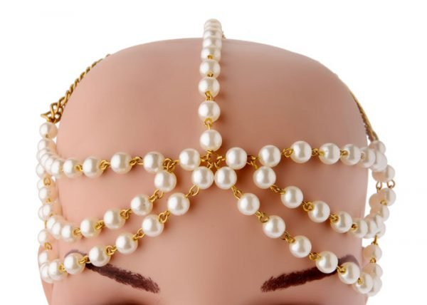 Bridal Pearls Headband (RJMM114)-2017