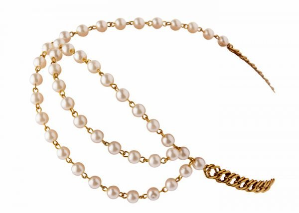Bridal Pearls Headband (RJMM114)-2016