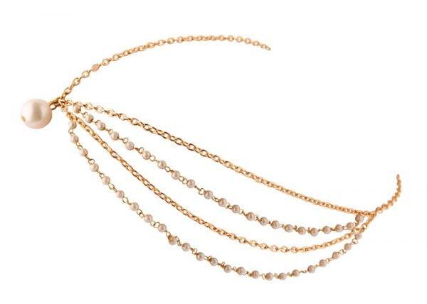 Pearls Beaded Headband (RJMM85)-0