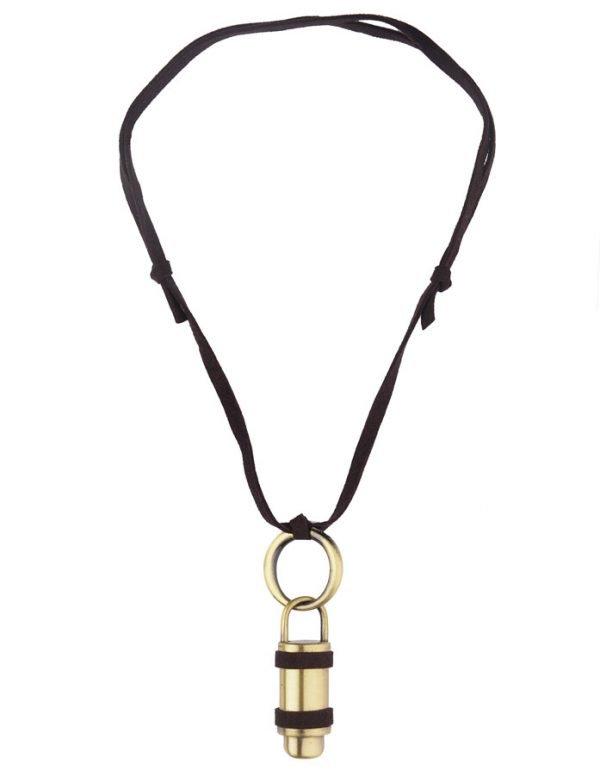 Bullet Necklace (RJMN6)-2288