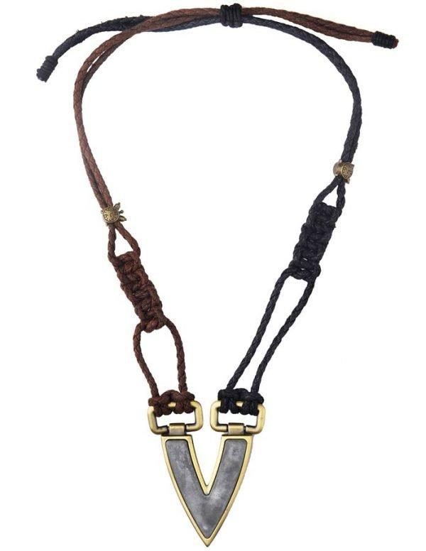 Warrior Vest necklace (RJMN9)-2293