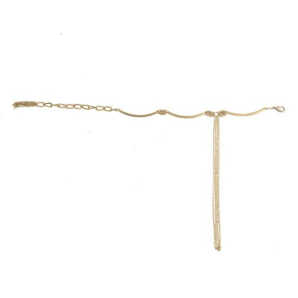 Fancy Finger Anklet  (RJMAL25)-(01)
