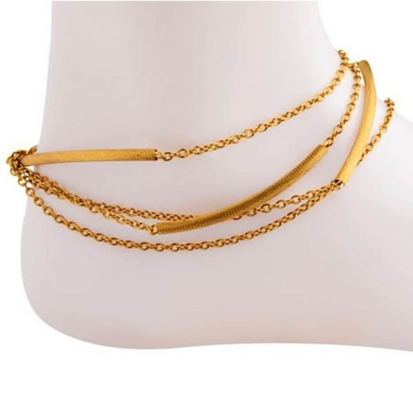 Small Pipe Anklet  (RJMAL29)-0